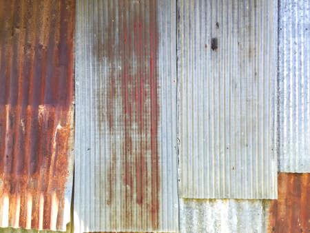 metallic: Zinc wall