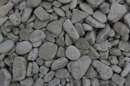 Roches grises sur la plage Banque d'images - 21655925