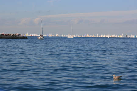 barcolana: Barcolana, the famous Trieste sailing race Stock Photo