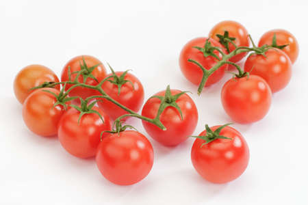 Fresh Tomato on a white background with copy space. Stock Photo - 9138206