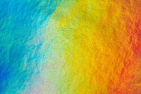 structured: Detalle de cerca del papel met�lico en los colores del arco iris, como una imagen de fondo estructurado colorido