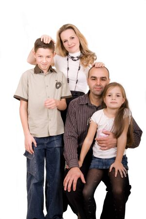 happy family Stock Photo - 3968410