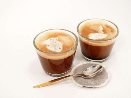 crema: Coffee with milk