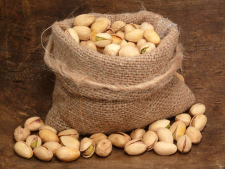 openly: pistachios in the bag