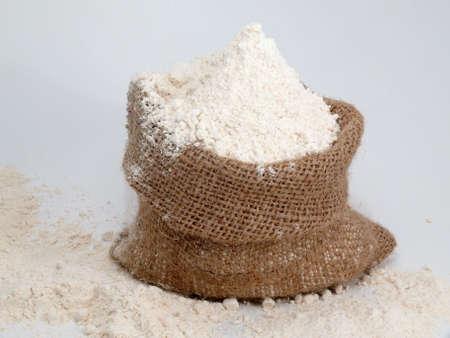 full grain flour photo
