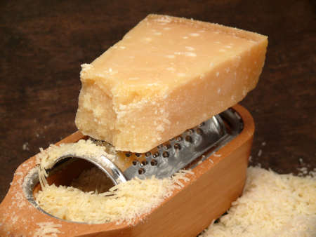 Parmesan cheese from Italy