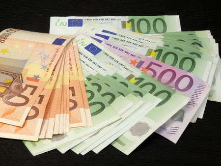 come in: Euros Stock Photo