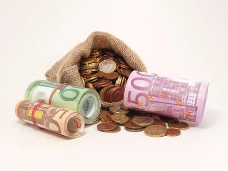 many money Standard-Bild
