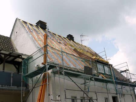 roof framing: Dachsanierung
