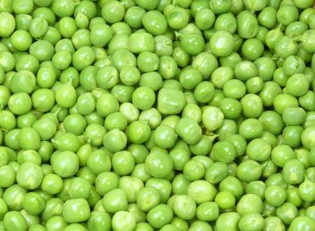 healthy peas Stock Photo