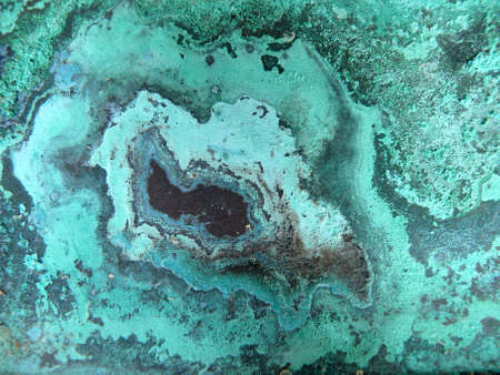 copper metal corrosion photo