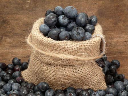 bilberries: bilberries in the bag