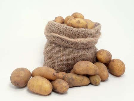 Kartoffeln in der Tasche  Standard-Bild - 5533041