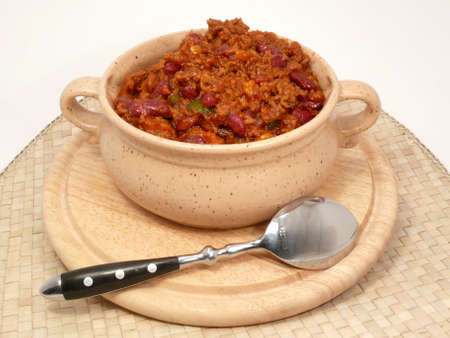 free plates: Chili con carne