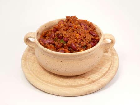 free plates: Chilli con Carne Stock Photo