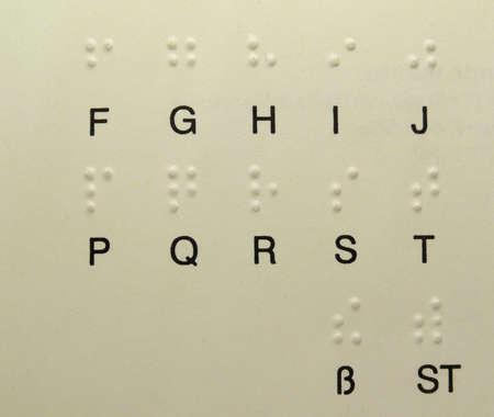 blindly: escritura de punto