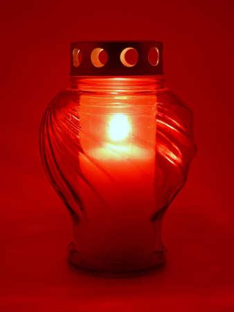 lampe: Grablicht Stock Photo