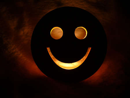 smile in the night Stock Photo - 6410831