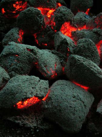 briquettes:  coal briquettes