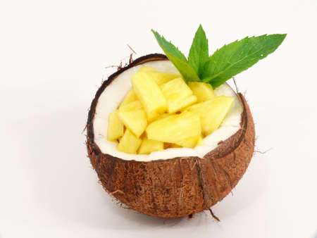 Tropic Fruit Dessert Imagens
