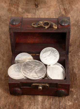 silver chest Stock Photo - 7187312