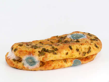 panino: Italian bread with harmful mold Stock Photo