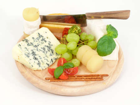 tabla de queso: Junta de queso Foto de archivo