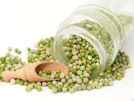 legumbres secas: guisantes secos