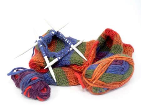 Handmade Felt Schuhe Standard-Bild - 8869579