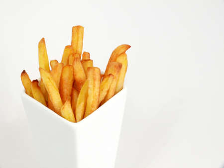 French fries potatoes Stock Photo - 9078592