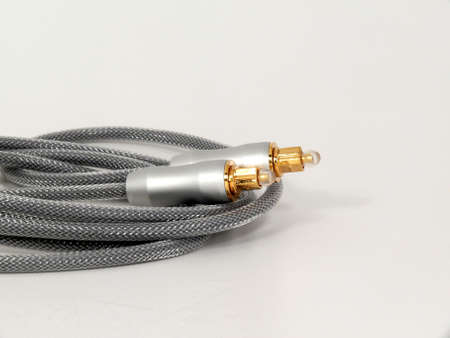fiber cable: Zonsondergang in de zomer veld