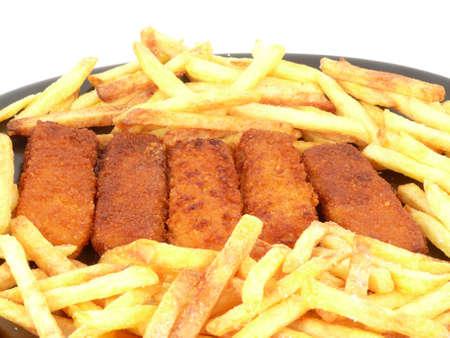 Fish & chips Standard-Bild - 9544339