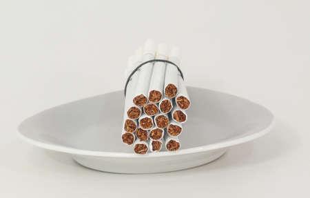 narcotics cigarette 写真素材