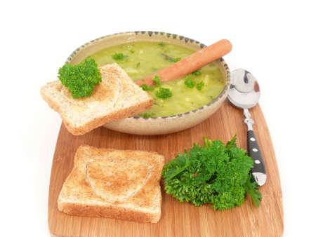 in liebe: von Oma mit Liebe frisch gekochte Erbsensuppe