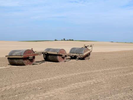 arable land: edited arable land in mecklenburg