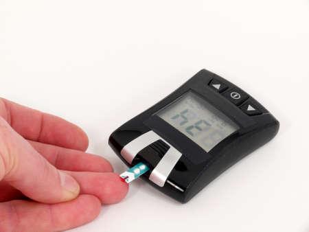 Zu niedriger Blutzuckerspiegel (Blutzucker) Standard-Bild - 10613461