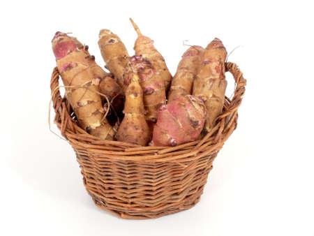 tuberous: jerusalem artichokes