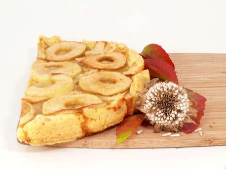 isoliert: apple pie