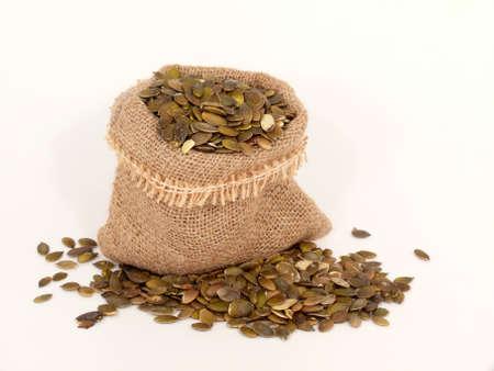 yesteryear: calabaza m�dica semillas Foto de archivo