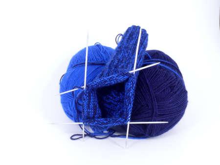 knitting wool photo