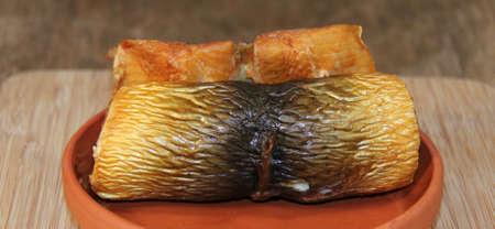 edible fish: golden brown Smoked fish
