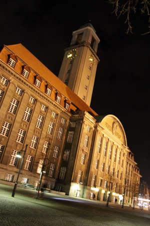 spandau: spandau, town hall Editorial