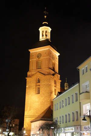spandau:  St. Nicholas Church in Spandau Stock Photo