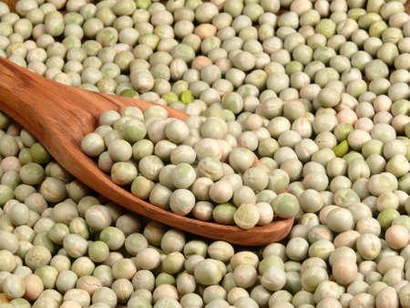 faboideae: hard garden peas Stock Photo