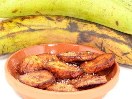 Gebackene Bananen Standard-Bild - 13431379