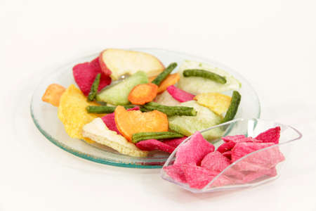 dried vegetables photo