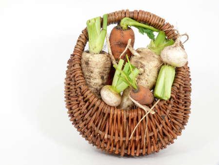 root vegetables: radice verdure Archivio Fotografico