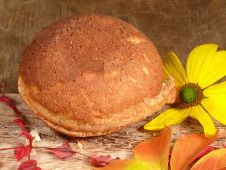 levadura: Pasteles de levadura Foto de archivo