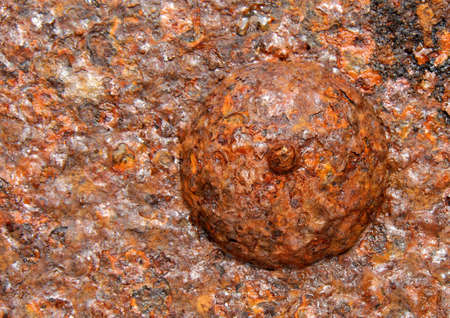 metal corrosion: Metal corrosion Stock Photo