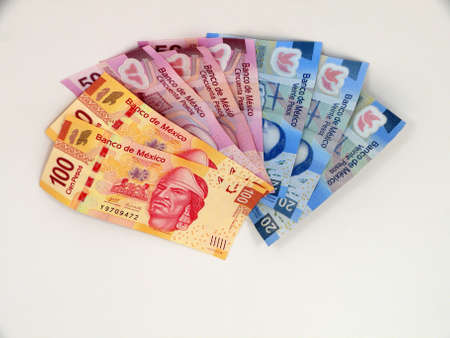 Mexikanische Pesos Standard-Bild - 15956769